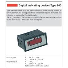 Indokator Digital untuk Pressure & Flow Measurement HUBA