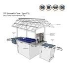 STP Bioreaktor Tank Type FT5 untuk Puskesmas Rawat Inap. Biocleaner 2
