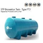 STP Bioreaktor Tank FT7 untuk Industri. Biocleaner 3