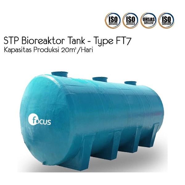STP Bioreaktor Tank FT7 untuk Industri. Biocleaner