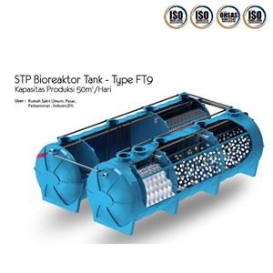 Bioreaktor Tank FT9 Kapasitas 50 meter kubik per hari