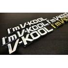 Stiker I'm V-Kool 1