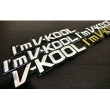 Stiker I'm V-Kool
