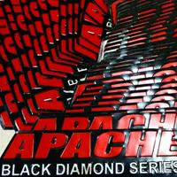 stiker mobil apache