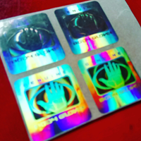 stiker label hologram