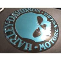 cetak stiker  harly davidson