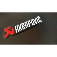 stiker akrapovic