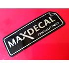 stiker maxdecal 1