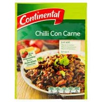Continental Chilli Corn Carne 40Gr