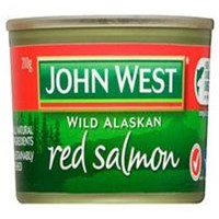 John West Red Salmon 210Gr