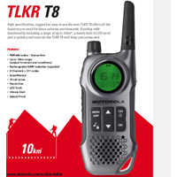 Motorola Talk About TLKR T8 Data Sheet