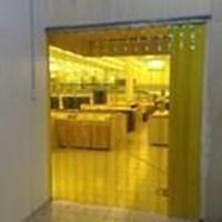 Tirai Plastik Curtain PVC Kuning