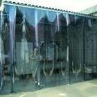 Strip Curtain Wall tirai plastik 4