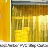Jual Tirai PVC Curtain Yellow - pvc curtain murah