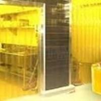 Jual Tirai PVC Curtain Kuning Glodok Jaya