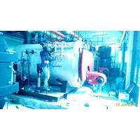 Jual   Jual Fire tube Steam Boiler Dual Fuel  2