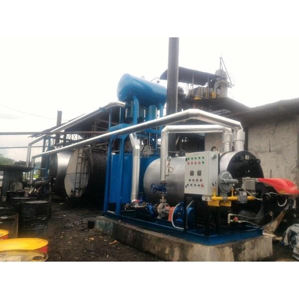 Jual  Boiler pemanas Aspalt - jual ht oil boiler