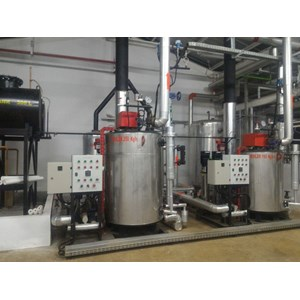 Jual Steam boiler Vertical