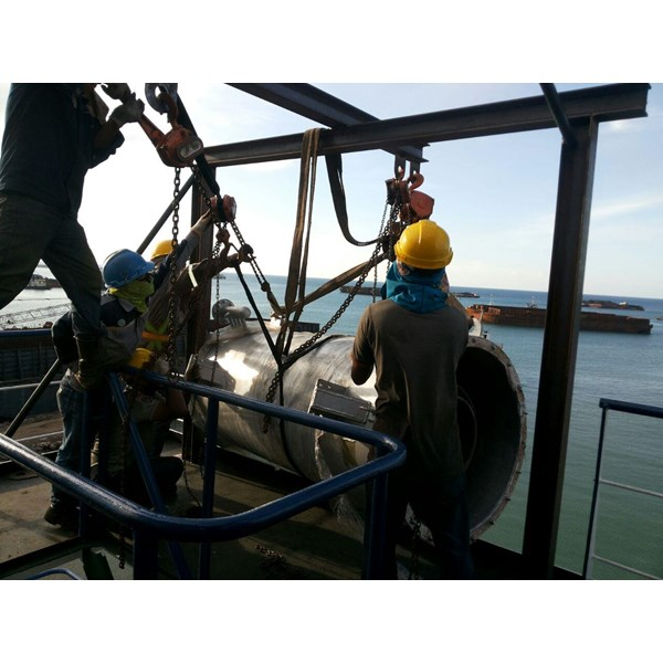 Jual Boiler Kapal Tanker - Marine  Steam Boiler