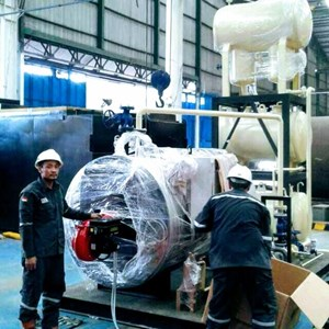 Fabrikasi Hot Boiler - Jual Thermal oilheater