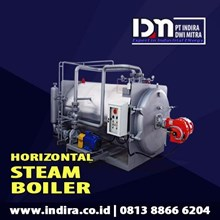 Steam boiler gas - dual fuel boiler