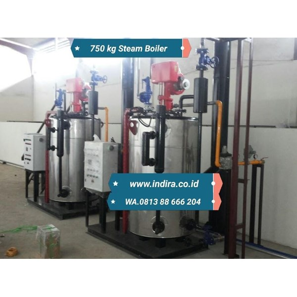 JualBoiler vertical - watertube boiler