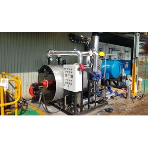 Jual Water Boiler - Pabrikasi HotWater Boiler