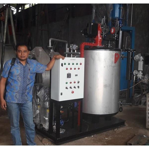 Jual Fire Tube Steam Boiler Fuel Gas
