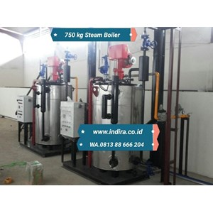 Jual watertube  steamboiler model miura