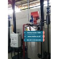Vertical boiler design 1