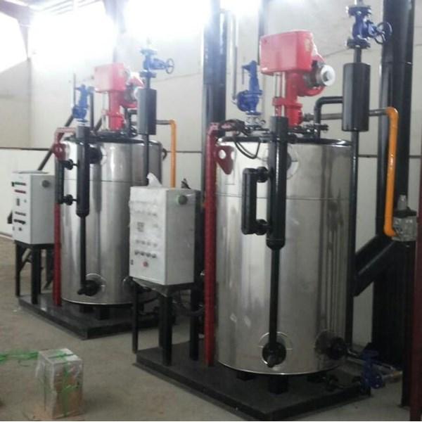 Vertical boiler design