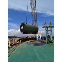 Fabrikasi Boiler Marine Tank