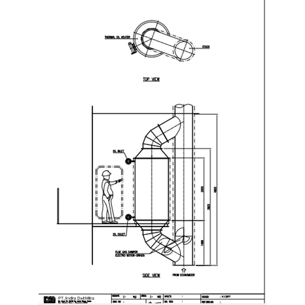 Auxiliary Boiler on Ships