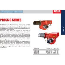 Jual Burner Riello Press GW