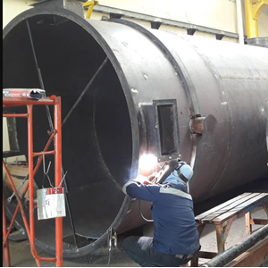 Service Oil Tube Boiler 1 By PT. Indira Dwi Mitra