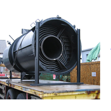 Service thermal oil heater