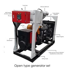 Generator Set Mitsubishi Open Type