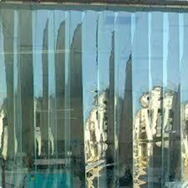 tirai PVC Strip Curtain Candi yogyakarta