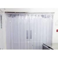 Strip Curtain Kuning bali kuta ( Tirai PVC )