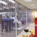 PVC curtain Strip Transparan Bogor 1