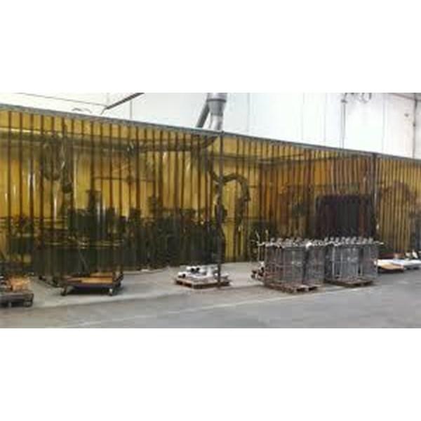 PVC curtain Strip Transparan Bogor