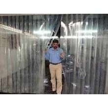 Plastik Curtain outdoor transparan di bekasi