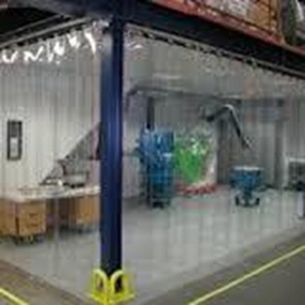 ( 082110595912 )Plastik pvc strip curtain tegal