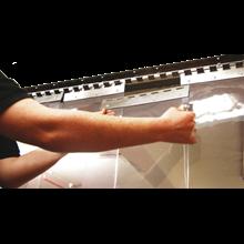 ( 082110595912 )Plastik PVC Strip serang timur curtain