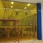 Wonosobo tirai PVC Curtain (Kuning anti Serangga) 1
