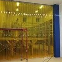 Wonosobo Tirai Pvc Curtain Kuning Anti Serangga 08588 533 30..