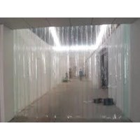distributor PVC Strip blue clear pvc ( 082110595912 )