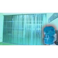 distributor PVC Strip (curtain bening tirai plastik)