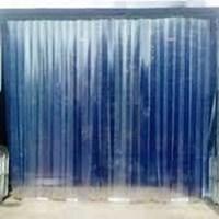 tirai PVC Blue Clear Surabaya gudang Whatsapp (0821 1059 5912)
