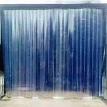 PVC curtains Blue Clear Surabaya warehouse Whatsap